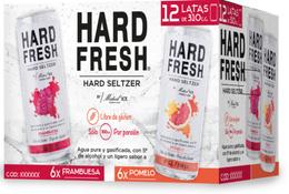 Pack Hard Fresh 6x Pomelo + 6x Frambuesa Lata 310cc