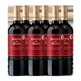Vino Casillero del Diablo Reserva Especial Carmenere Botella 750cc x6