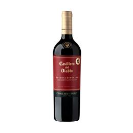 Vino Casillero del Diablo Reserva Especial Cabernet Sauvignon Botella 750cc