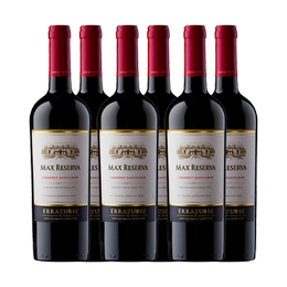 Vino Errazuriz Reserva Cabernet Sauvignon Botella 750cc x6