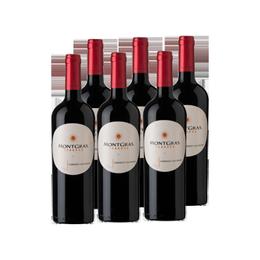 Vino MontGras Reserva Cabernet Sauvignon Botella 750cc x6