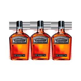 Whiskey Jack Daniels Gentleman 40° Botella 750cc x3