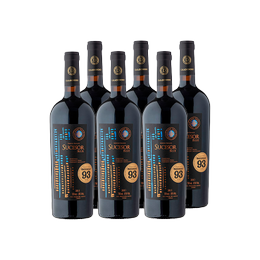 Vino Casa Donoso Sucesor Blue Blend Botella 750cc x6