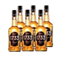 Pisco 1733 35° Botella 1Lt x6