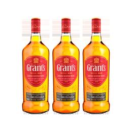 Whisky Grants Botella 1Lt x3