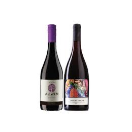 Pack Vino 7 Colores Gran Reserva Semillon Pinot Noir Botella 750cc + Vino Aliwen Pinot Noir Botella 750cc