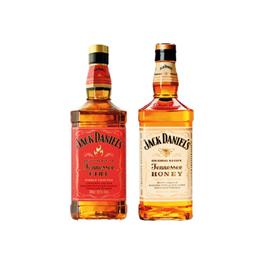 Pack Whiskey Jack Daniels Fire Botella 750cc + Whiskey Jack Daniels Honey Botella 750cc