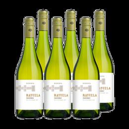 Vino Viu Manent Rayuela Reserva Chardonnay Botella 750cc x6