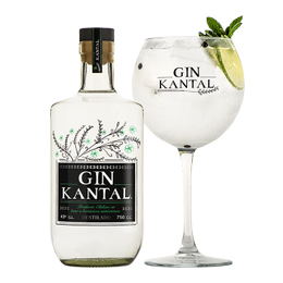 Gin Kantal Botella 750cc + Copa