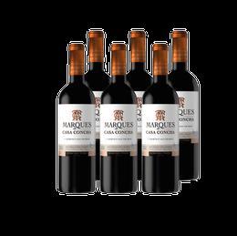 Vino Marques de Casa Concha Cabernet Sauvignon Botella 750cc x6