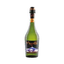Sidra Espumante Premium Magritte Apple Brut Botella 750cc