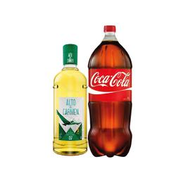 Pack Alto del Carmen 35° Botella 1Lt + Coca Cola 3Lt