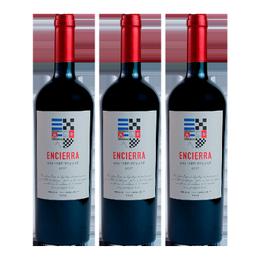 Vino Encierra Vineyard Reserve 2017 Botella 750cc x3
