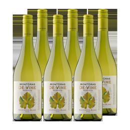 Vino MontGras de Vine Reserva Sauvignon Blanc Botella 750cc x6