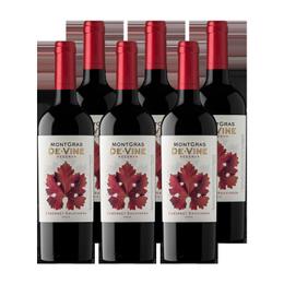 Vino MontGras de Vine Reserva Cabernet Sauvignon Botella 750cc x6