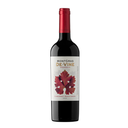 Vino MontGras de Vine Reserva Cabernet Sauvignon Botella 750cc