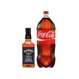 Pack 1x Whiskey Jack Daniels N7 500cc + 1x Coca Cola 3Lts