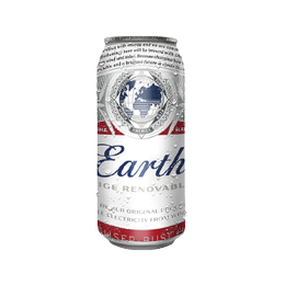 Cerveza Budweiser Lager Lata 473cc