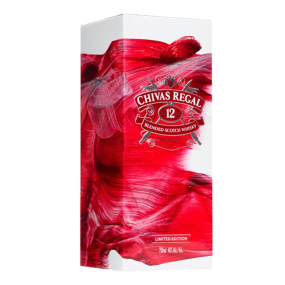 Chivas Regal 12 Años Tin Box Botella 750cc