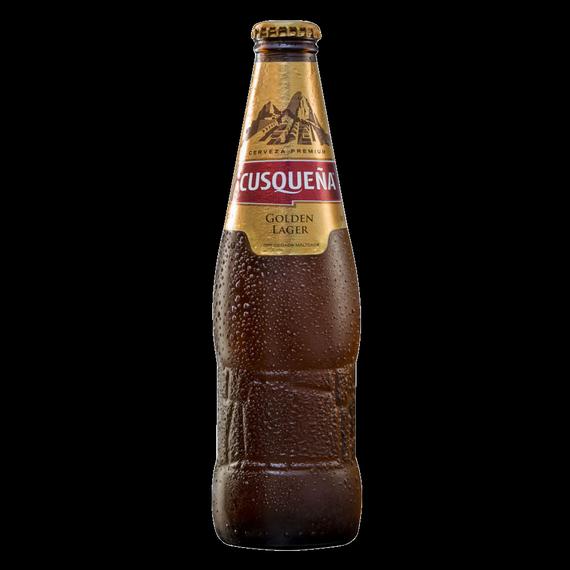 Cerveza Cusqueña Lager Botella 330cc