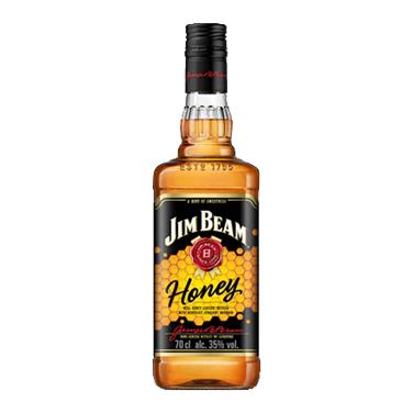 Bourbon Whiskey Jim Beam Honey Botella 700cc
