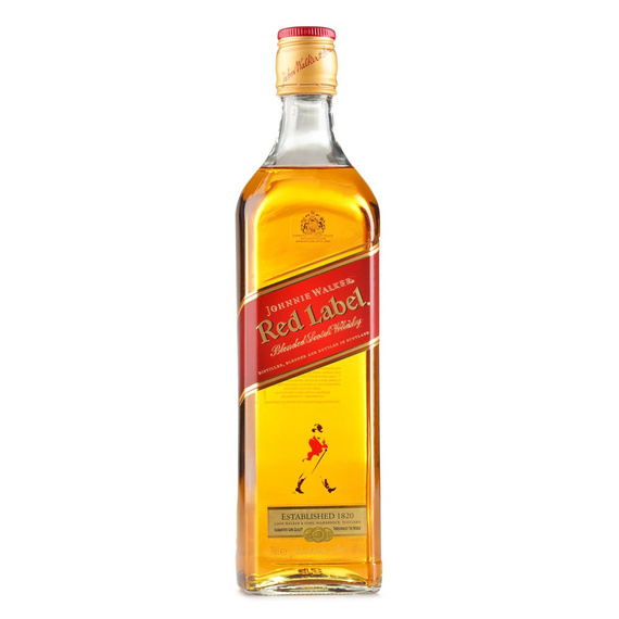 Whisky Johnnie Walker Etiqueta Roja Botella 750cc