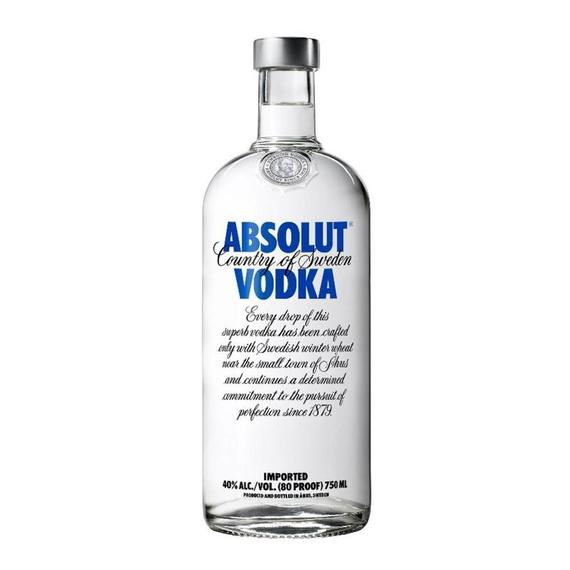Vodka Absolut Blue Botella 750cc