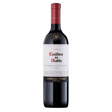 Vino Casillero del Diablo Cabernet Sauvignon Botella 750cc