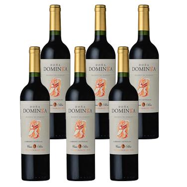Vino Doña Dominga Gran Reserva Cabernet Sauvignon Botella 750cc x6