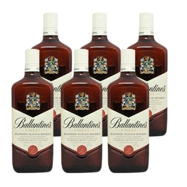 Whisky Ballantines Finest Botella 750cc x6