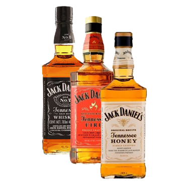 Jack Daniels N7 + Honey + Fire 750cc