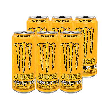 Monster Energy Juice Ripper Lata 473cc x6