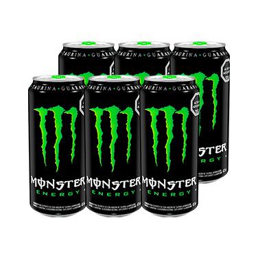 Monster Energy Regular 473cc x6