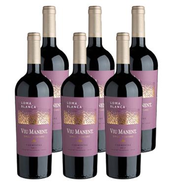 Vino Viu Manent Single Vineyard Loma Blanca Carmenere Botella 750cc x6