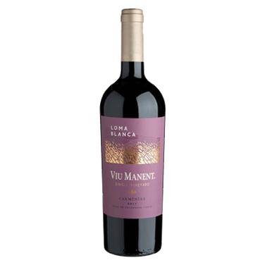 Vino Viu Manent Single Vineyard Loma Blaca Carmenere Botella 750cc