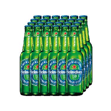 Cerveza Heineken Sin Alcohol Botella 330cc x24