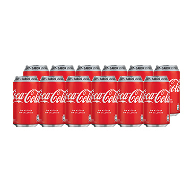 Coca Cola Light Lata 350cc x12