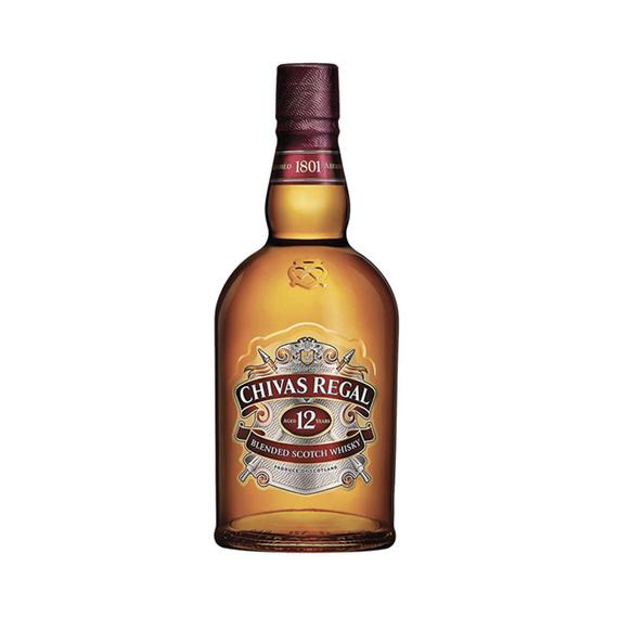 Whisky Chivas Regal 12 Años Botella 750cc