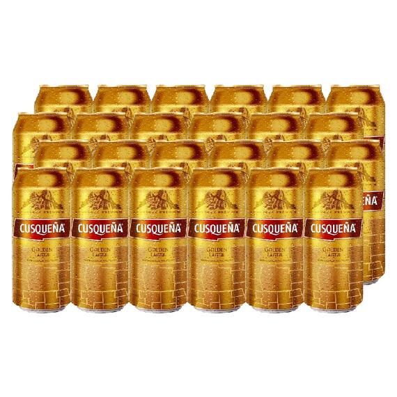 Cerveza Cusqueña Lager Lata 473cc x24