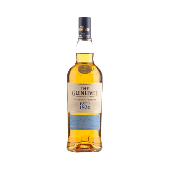 Whisky The Glenlivet Single Malt Founders Reserve Botella 750cc