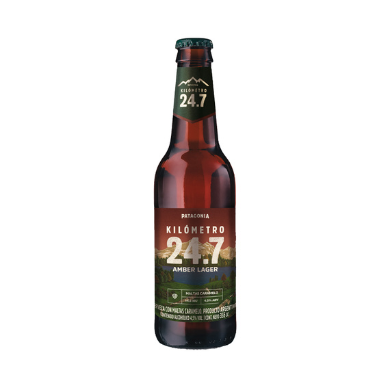 Cerveza KM 24.7 Amber Botella 355cc