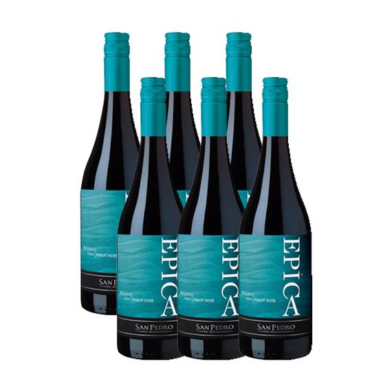 Epica Pinot Noir Botella 750cc x6