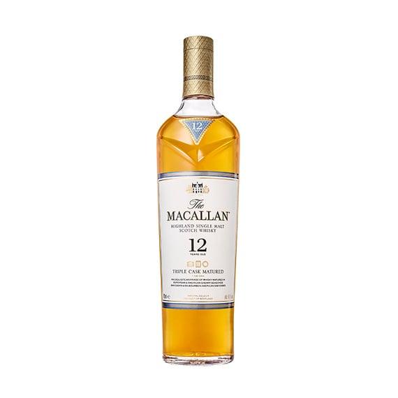 Whisky The Macallan Triple Cask 12 Años Botella 700cc