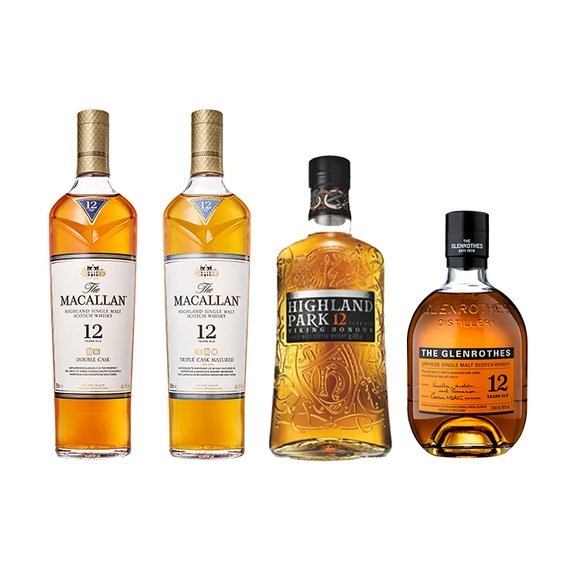 Highland Park + The Glenrothes + Macallan Triple Cask + Macallan Double Cask