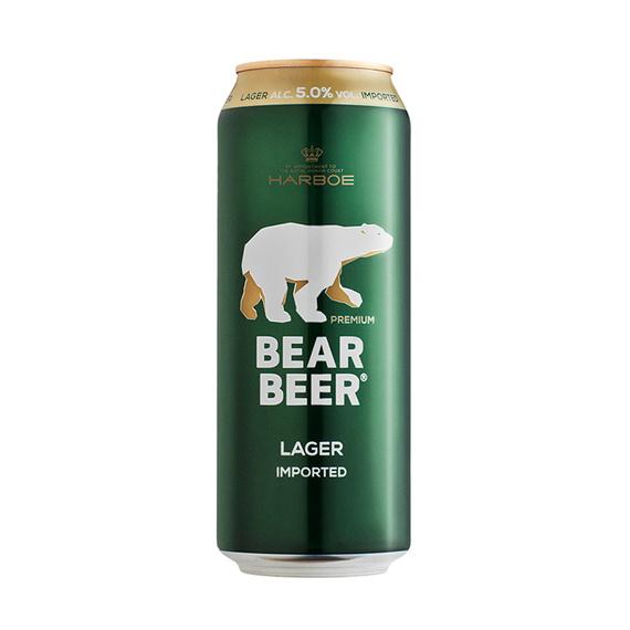 Cerveza Bear Beer Lager Lata 500cc