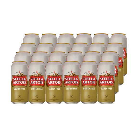 Stella Artois Gluten Free Lata 473cc X24 Liquidos Cl