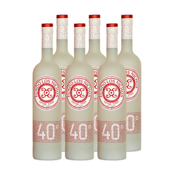 Pisco Los Nichos 40° Botella 750cc x6