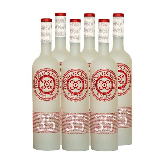 Pisco Los Nichos 35° Botella 750cc x6