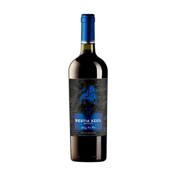 Vino Bestia Azul Reserva Cabernet Sauvignon Botella 750cc