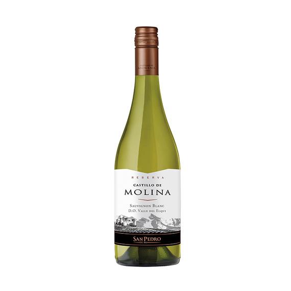 Vino Castillo de Molina Reserva Sauvignon Blanc Botella 750cc